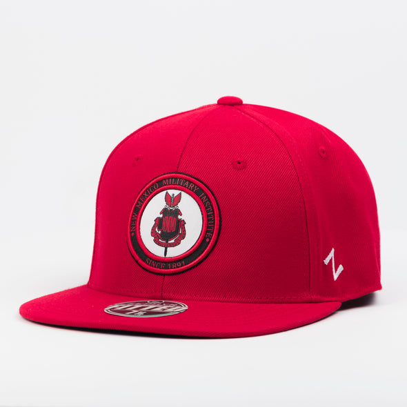 NMMI Red Fitted Hat
