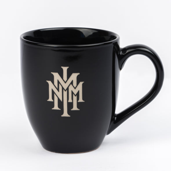 NMMI Black Coffee Mug