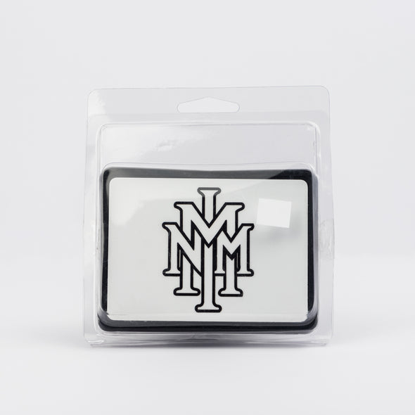 NMMI Black Logo Hitch Cover