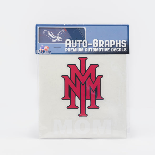 NMMI Mom Stacked Logo Decal