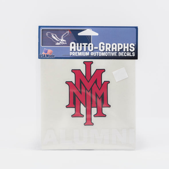 NMMI Alumni Stacked Logo Decal