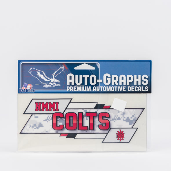 NMMI Colts Decal