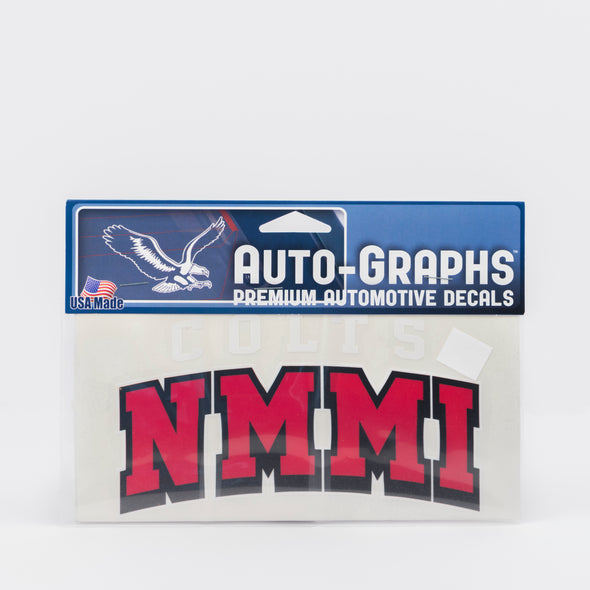 NMMI Colts Red Decal