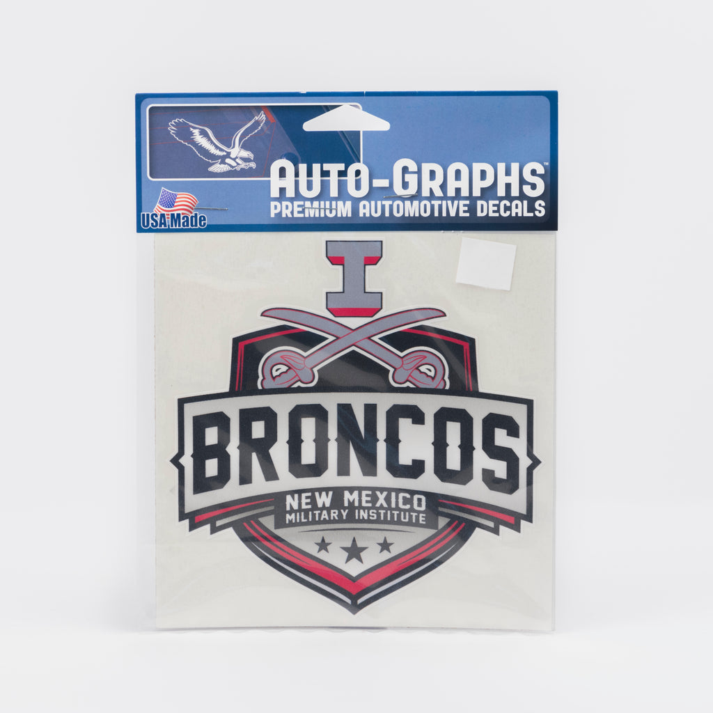 NMMI Sword Broncos Decal