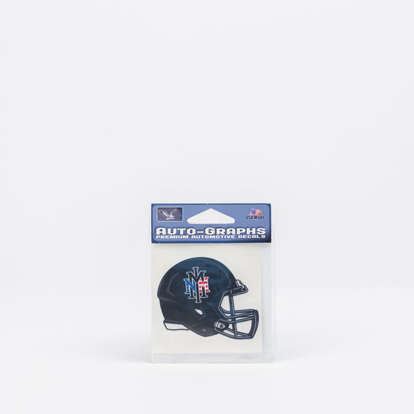 NMMI USA Black Helmet Mini Decal