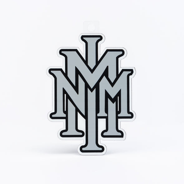 NMMI Silver Stacked Logo Magnet