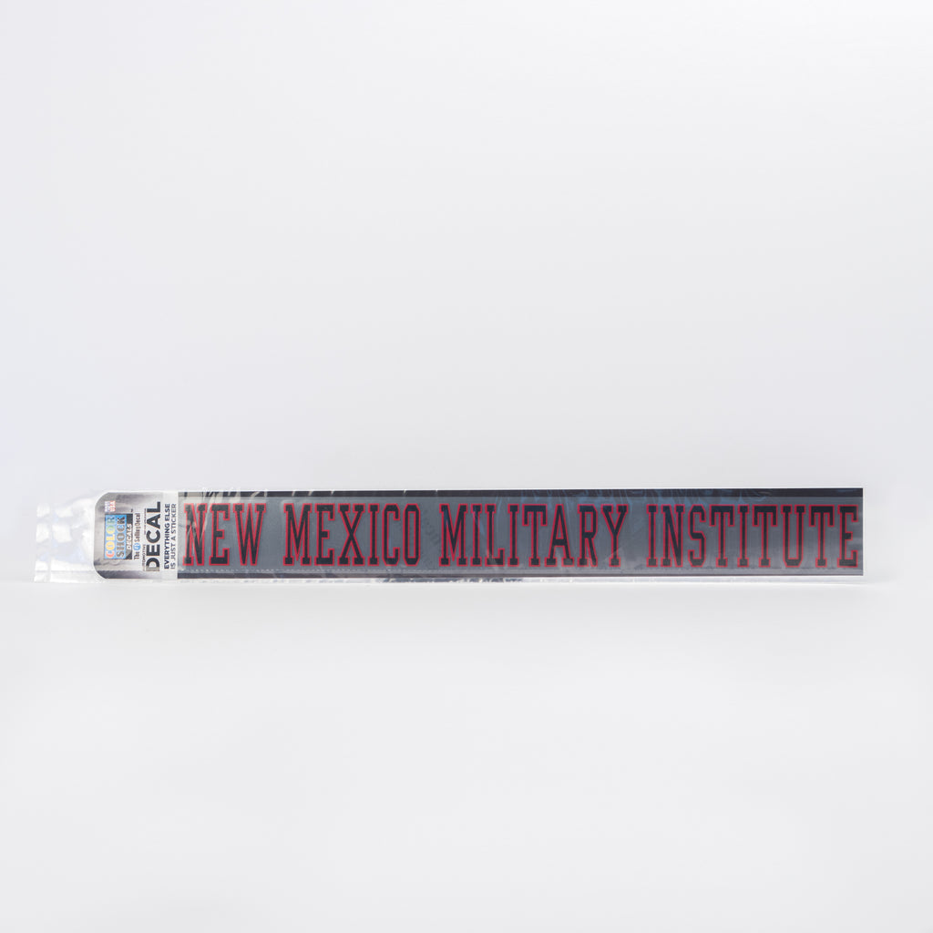 New Mexico Military Institute Decal