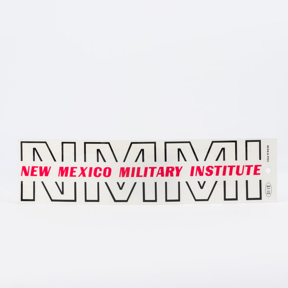 NMMI Peel Decal