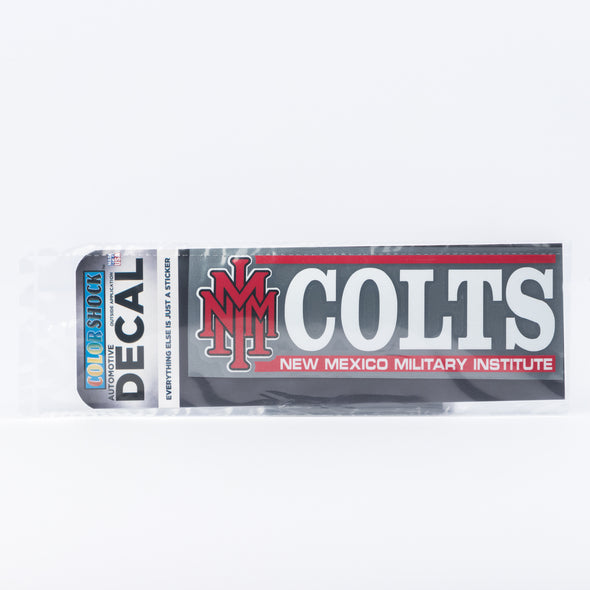 NMMI Colts Stacked Decal