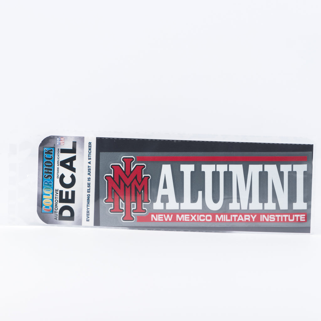 NMMI Stacked Alumni Decal