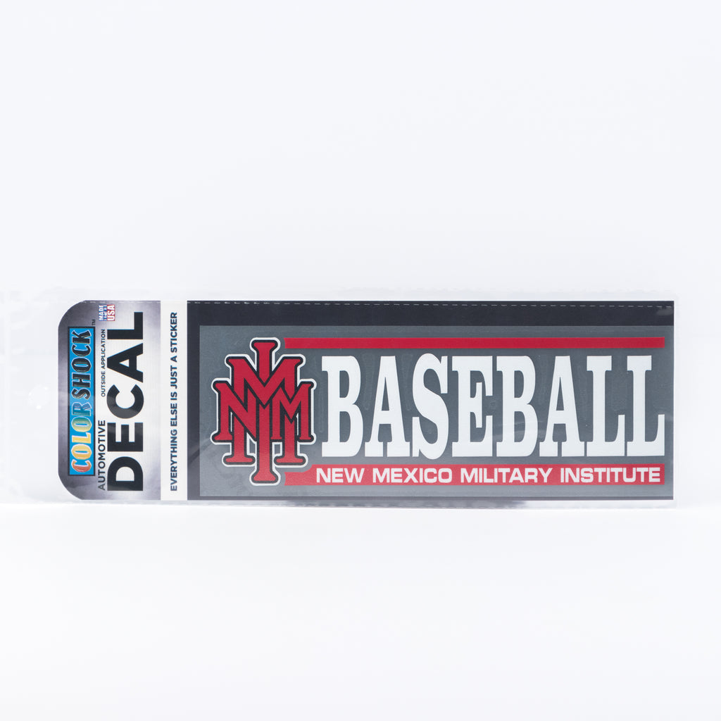 NMMI Baseball Horizontal Decal