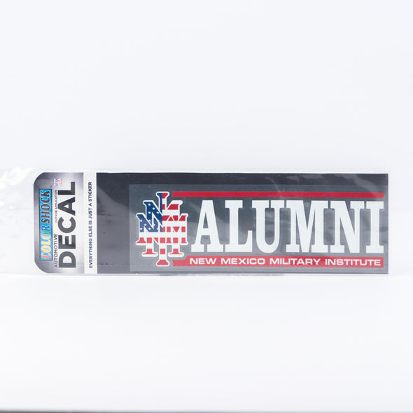 NMMI USA Alumni Horizontal Decal