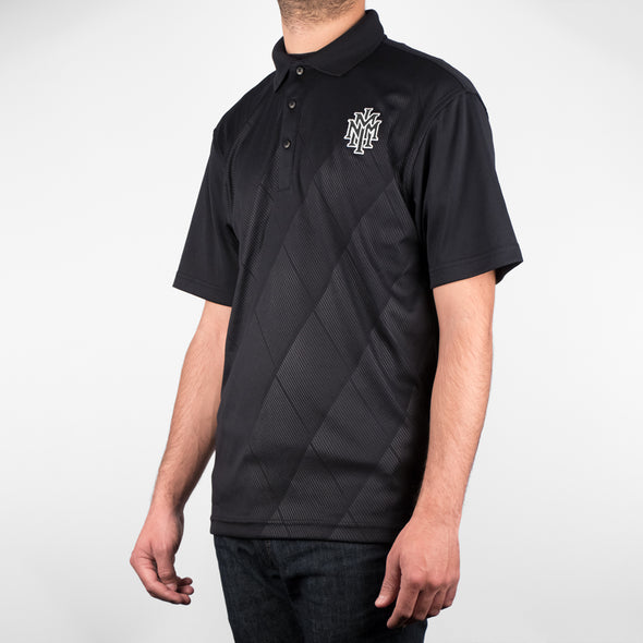 NMMI Black Diamond Pattern Polo