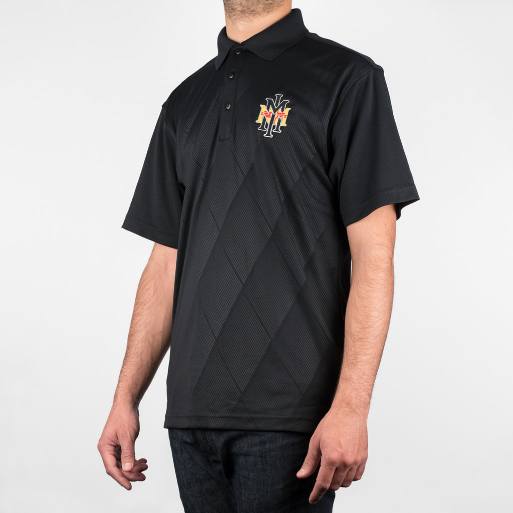 NMMI Black Diamond Pattern New Mexico Polo