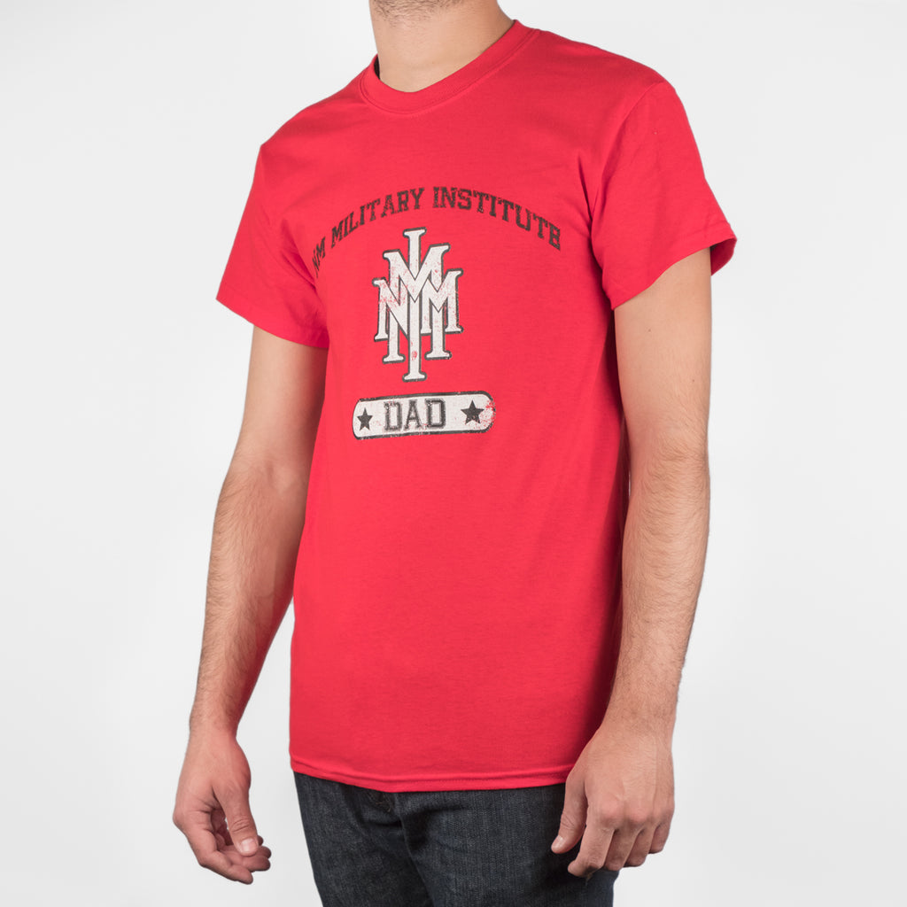 NMMI Dad Red T-shirt