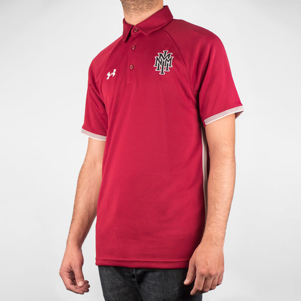 NMMI Under Armour Red Polo