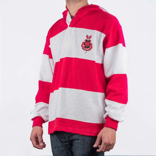NMMI Red & White Rugby Style Jacket