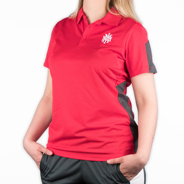 NMMI Womens Red Polo