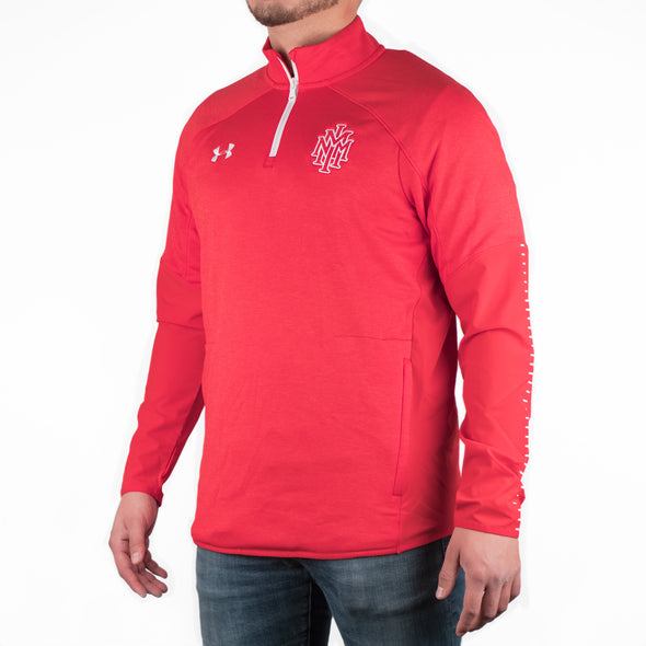 NMMI Under Armour Red Zip Up