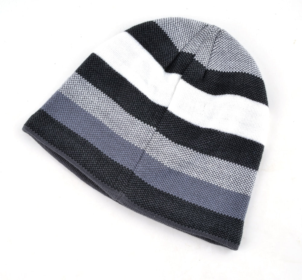 a673a794beccc 2018 Men s Skullies Hat Bonnet Winter Beanie Knitted Wool Hat Plus Vel –  Metro Packaging Services LLC.