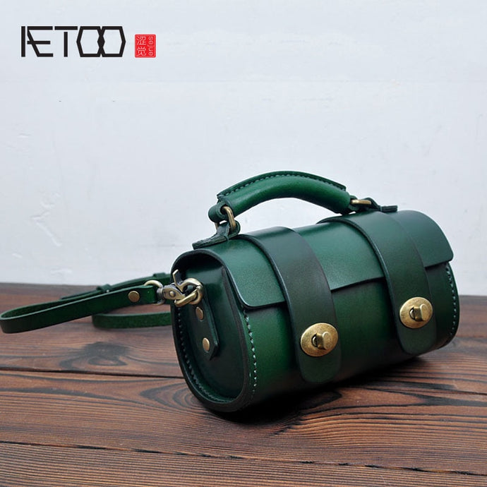 AETOO Retro Small Round Women's Bag