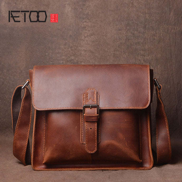 AETOO Women's Leather Shoulder Bag