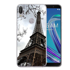 I am alone Covers For Asus Zenfone Max Pro (M1) ZB601KL 5.99inch Cellphone Solf TPU Colorful Back Fashion Shell For Asus ZB602KL