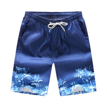 Load image into Gallery viewer, Men Printed Beach Shorts Quick Dry Running Shorts Swimwear Swimsuit Swim Trunks Beachwear Sports Shorts Board Shorts Plus Size