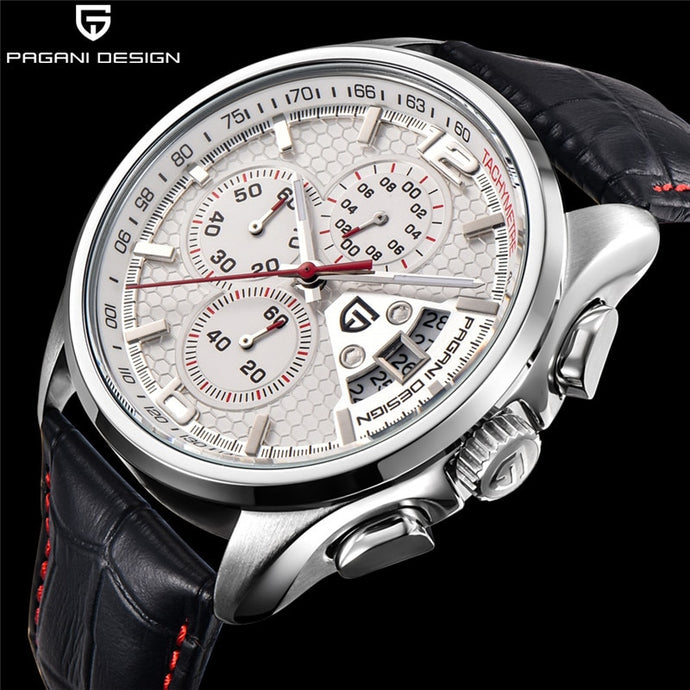 PAGANI Brands Timed Movement Men's Watch