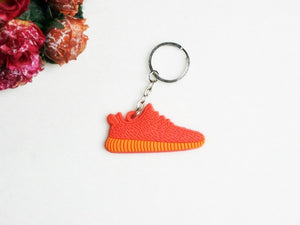 Mini Silicone 350 Keychain Bag Charm Woman Men Kids Key Ring Gifts Sneaker Key Holder Jordan Shoes Key Chain