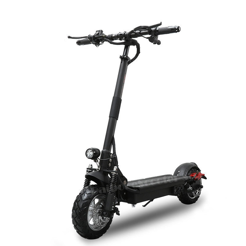 Powerful Electric Scooter 1000w 48v Aqiho Foldable For Adults 52v Folding Kick Scooter With Seat Two Wheel Electric Scooters