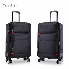 Load image into Gallery viewer, high quality waterproof Oxford Rolling Luggage Spinner men Business Brand Suitcase Wheels 20 inch Cabin Trolley High capacity