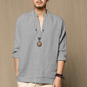 Men's Long Sleeve Casual Leisure Shirt