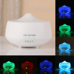 ISHOWTIENDA 1PC Home Office Humidificador LED Lighting Aroma Diffuser Essential Oil Ultrasonic Air Humidifier Purifier Atomizer