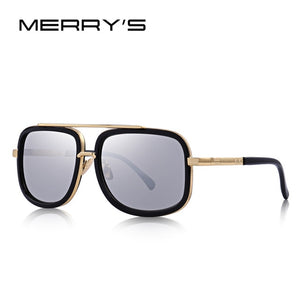 MERRY'S Classic Square Sunglasses