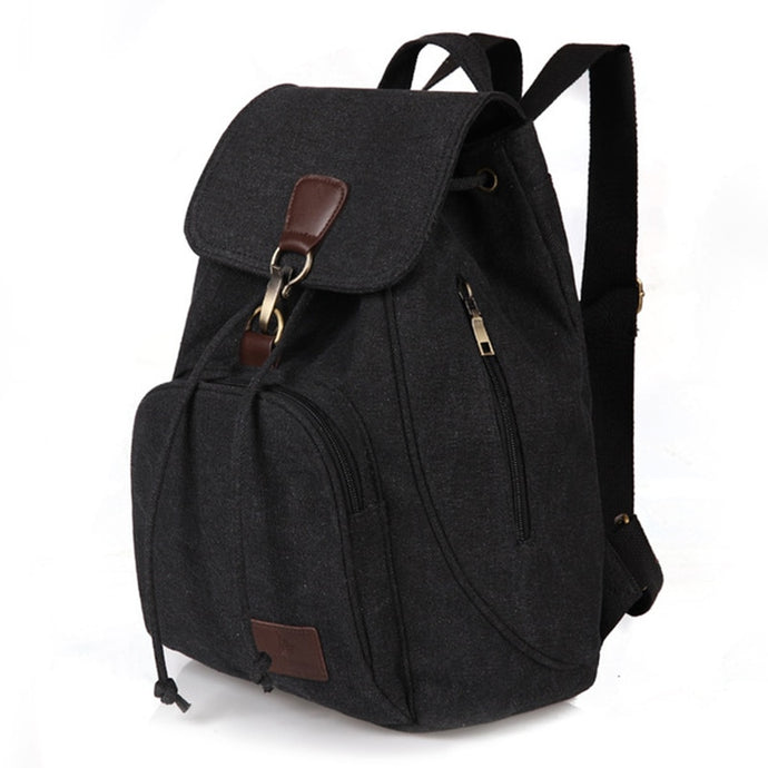 Woman's Canvas Backpack