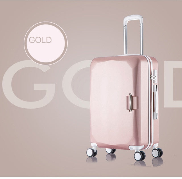 High Capacity Rolling Luggage  Suitcase