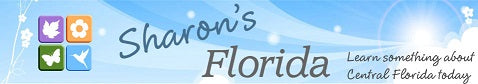 Sharon's Florida banner. Learn something about Central Florida today.  Buy Florida plants and seeds.