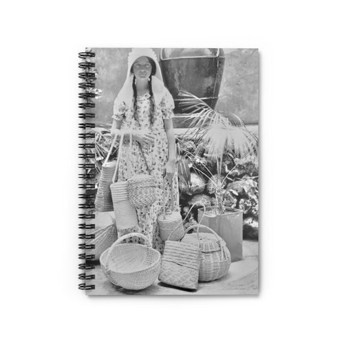 Vintage Frenchtown Spiral Notebook