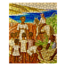Load image into Gallery viewer, St. Croix Sugarcane Field Puzzle - Vintage Virgin Islands