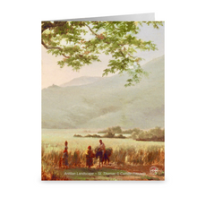 Load image into Gallery viewer, Antilian Landscape in St. Thomas, Long Bay By Camille Pissarro ~ Notecard - Vintage Virgin Islands