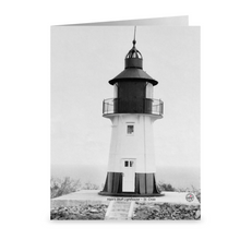 Load image into Gallery viewer, Ham's Bluff Lighthouse ~ Notecard - Vintage Virgin Islands