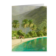 Load image into Gallery viewer, Vintage Maho Bay, St. John by Andreas Riis Carstensen ~ Notecard - Vintage Virgin Islands