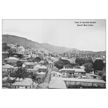Load image into Gallery viewer, Town View of Charlotte Amalie ~ St. Thomas Postcard - Vintage Virgin Islands