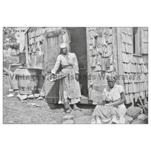Load image into Gallery viewer, Native Women of St. Croix Postcard - Vintage Virgin Islands