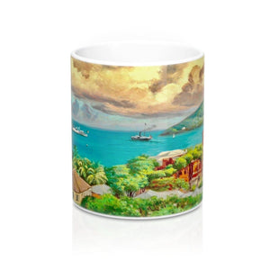 Vintage St. Thomas Mug by Andreas Riis Carstensen Mug - Vintage Virgin Islands