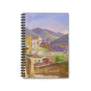 Vintage St Thomas Frederik Visby Notebook - Vintage Virgin Islands