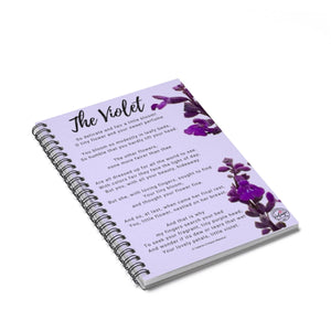 The Violet Poem Notebook - Vintage Virgin Islands