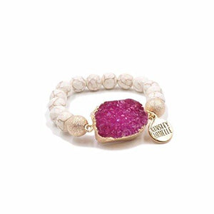 Kinsley Armelle Stone Collection - Blush Bracelet - Vintage Virgin Islands