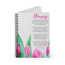 Load image into Gallery viewer, Flowers Poem Notebook - Vintage Virgin Islands